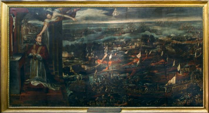 Visión-del-Papa-Pío-V-de-la-victoria-de-Lepanto_Museo-Naval.1
